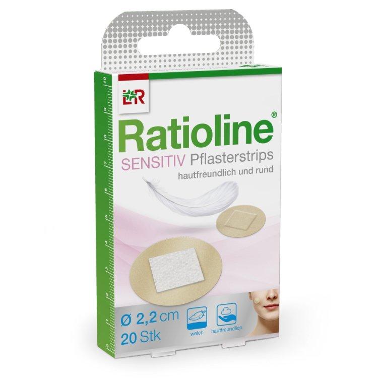 Ratioline® Sensitive Pflasterstrips rund